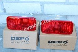 Задний фонарь левый в бампер на Mitsubishi Lancer 9 (2004-2008)