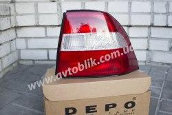 Задний фонарь левый на Opel Vectra B (1995-1999)