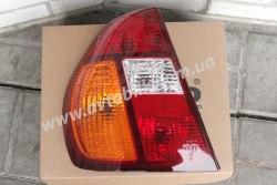 Задний фонарь левый на Renault Symbol, Clio (2002-2008) желто-красный