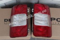 Задний фонарь левый на Volkswagen Caddy (2004-2010)