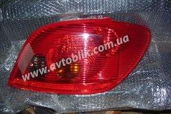 Задний фонарь левый на Peugeot 307 (2001-2005)