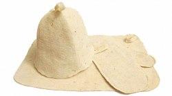 Набор для бани и сауны «Трио» (коврик ,шапка ,рукавица) OBSI 130004