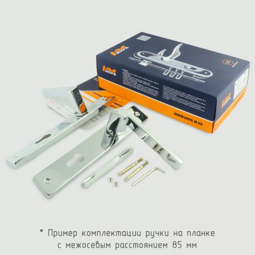 Ручка на планке Нора-М 111-85 мм