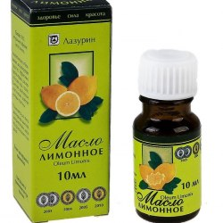 Лимонное масло LAZURIN 10мл