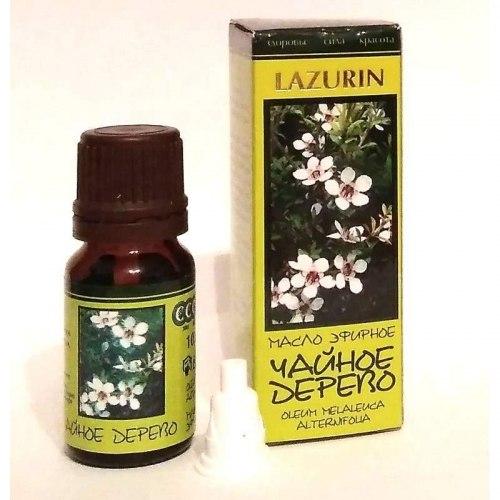 Масло чайного дерева LAZURIN 10мл