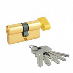 Цилиндровый механизм Нора-М ECO Z ЛВ ключ/вертушка