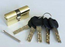Цилиндровый механизм с перфорированным ключом Lockly Z100P ключ/ключ