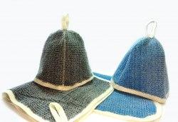 Набор для бани и сауны 2 предмета Цветной суперэконом OBSI БВСЭ0104