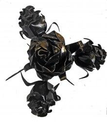 Роза с четырьмя бутонами на подставке ЗСИ