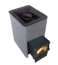 Печь-каменка для бани Березка Оптима 12 (ДТ-3 стекло)