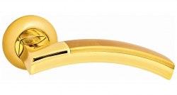 Дверная ручка Onyx Lux Урбино SG GP матовое золото