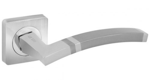 Дверная ручка Onyx Lux Матера SN/CP матовый никель