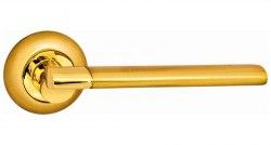 Дверная ручка Onyx Lux Аллегро SG GP матовое золото