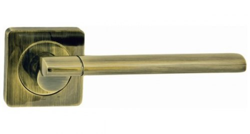 Дверная ручка Onyx Lux Капри AB старая бронза