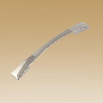 Ручка мебельная мат.хром/хром 2058-96 м