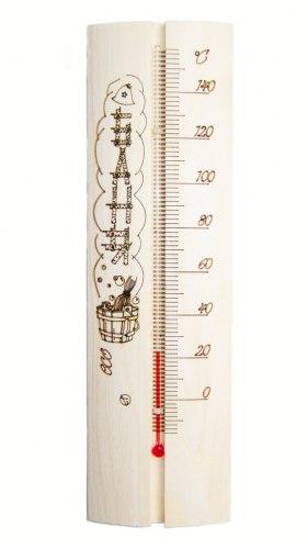 Термометр для бани и сауны(с рисунком) OBSI ТТ-05
