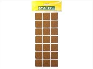 Подпятник фетровый 30*30 мм коричневый (лист 21шт)