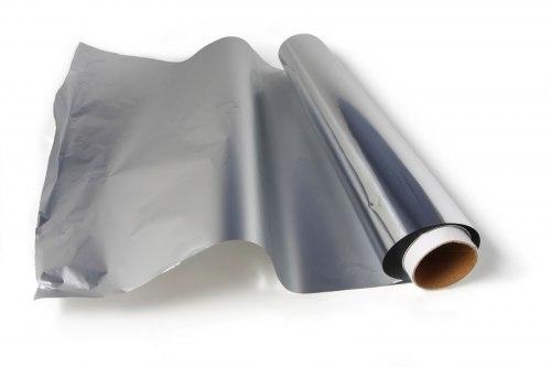 Фольга алюминиевая в намотке 12м.кв (50мкм)
