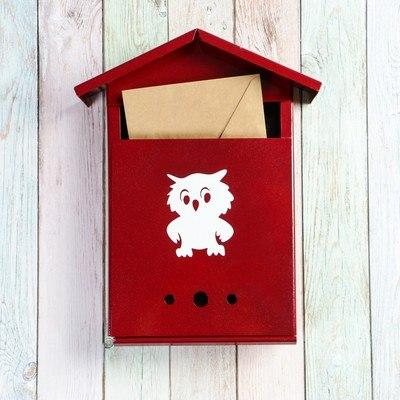 Ящик почтовый Домик К с замком цвета в ассортименте