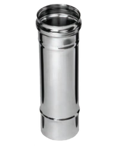 Дымоход 0,25м FERRUM AISI 430/0,8