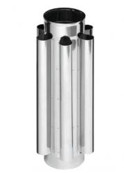 Дымоход-конвектор 1м FERRUM AISI 430/0,8