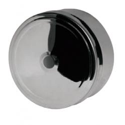 Заглушка с отверстием FERRUM AISI 430/0,5+AISI 430/0,5