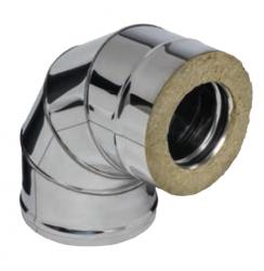 Колено 90гр FERRUM AISI 430/0,5+ОЦ/0,5