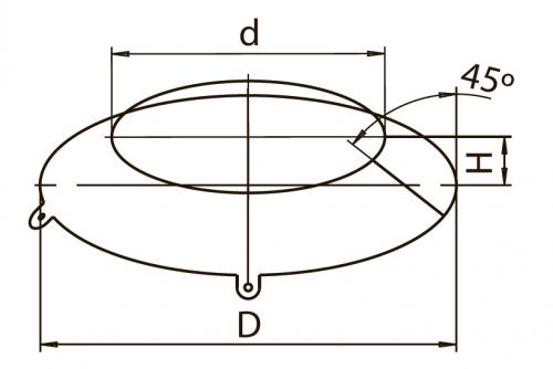 Юбка FERRUM AISI 430/0,5мм
