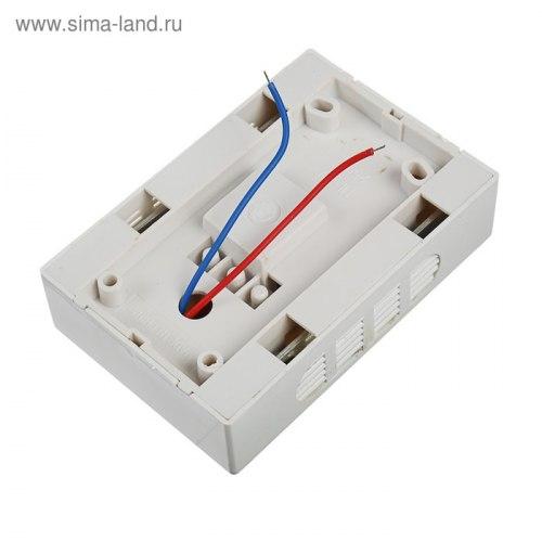 """Дверной звонок от сети 220В, """"колокольчик"""" DV-04"""