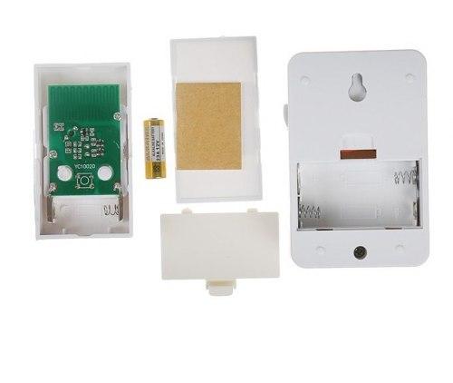 Беспроводной дверной звонок LuazON LZDV-27, база от 2 АА, 1 кнопка от LR23A