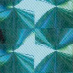 Пленка с/к 0,45х8м (голография зеленый) Deluxe 6023