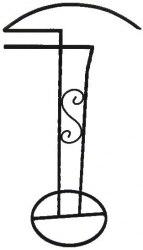 Вешалка для одежды ЗСИ 1