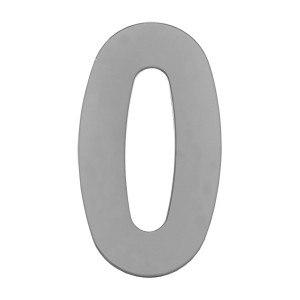 Цифра дверного номера металл MARLOK 0-9 хром