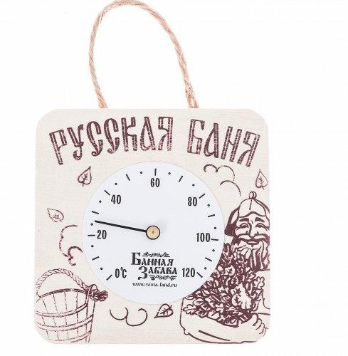 """Термометр банный со стрелкой """"Русская баня"""" Добропаровъ 2808861"""
