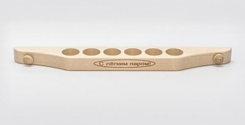 Подставка для масла 6 отв с гравировкой ФТП М-30/6