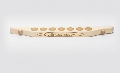 Подставка для масла 7 отв с гравировкой ФТП М-30/7