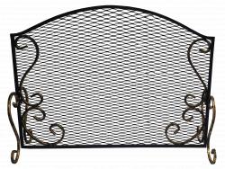 Кованый экран для камина ЗСИ № 3
