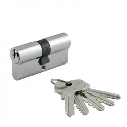 Цилиндровый механизм Нора-М ECO AL Л ключ/ключ симметричный