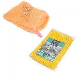 Мочалка-рукавичка банная PRIDE Ежовая