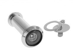 Глазок дверной тип 1 L50-75мм d 14мм со шторкой