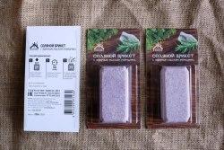 Соляной брикет с эфирным маслом розмарина 0.2кг Соляная баня