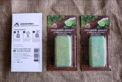 Соляной брикет с эфирным маслом бергамота 0.2кг Соляная баня