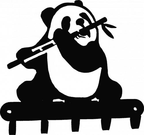 Ключница № 8 Панда