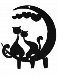 Ключница № 10 Влюбленные коты