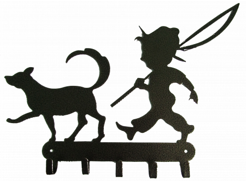 Ключница № 20 Мальчик и собака