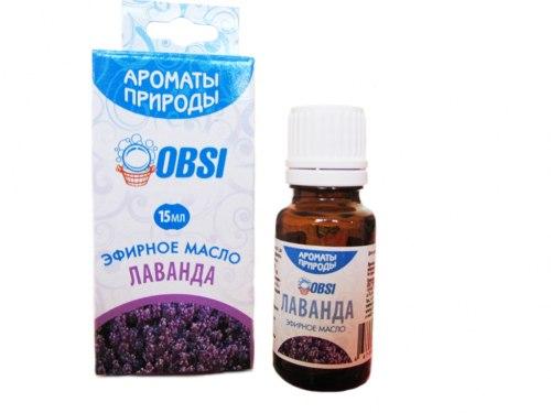 Эфирное масло «Лаванда» 15мл OBSI БМ092