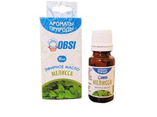 Эфирное масло «Мелисса» 15мл OBSI БМ070