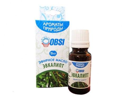 Эфирное масло «Эвкалипт» 15мл OBSI БМ076