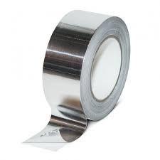 Лента клейкая алюминиевая 50мм*25м X-glass 5205
