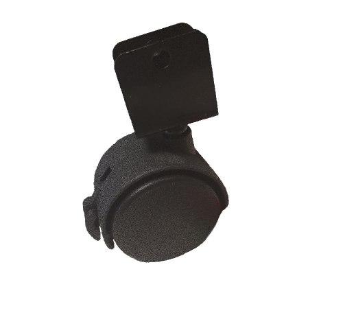 Опора колесная U-образная со стопором d=40 mm TMA-40-N1